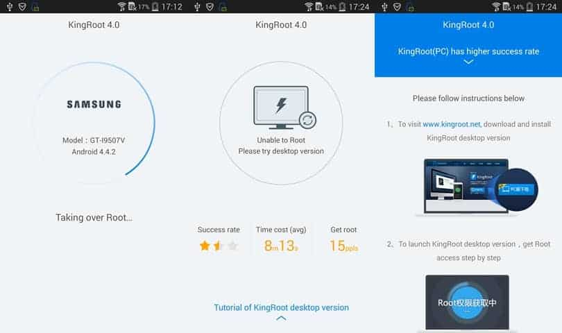 How to use Kingroot on Android