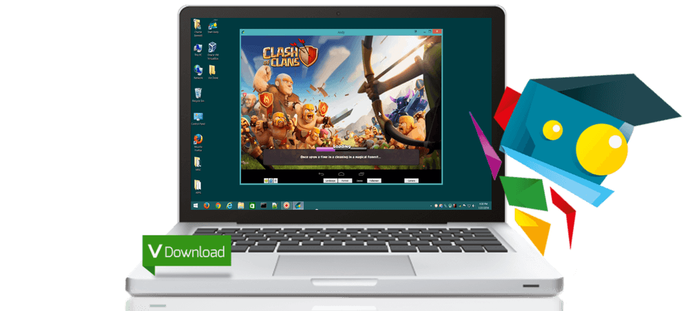Viber for PC Using Andyroid