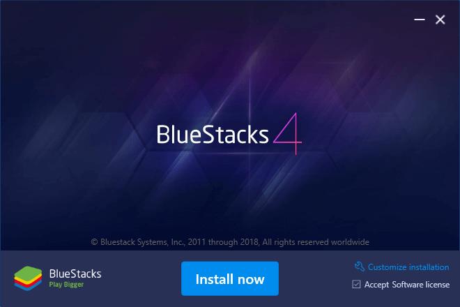 Viber for PC using Bluestacks