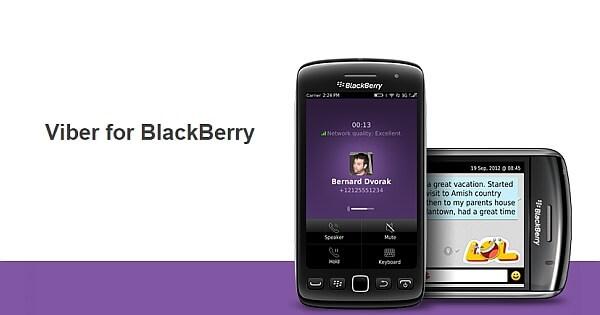 Viber For BlackBerry