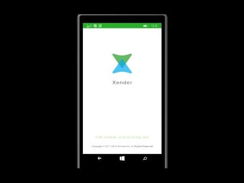 Xender for Windows Phone Free Download [New Version]