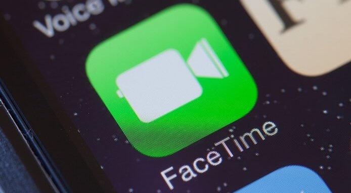 Facetime log in